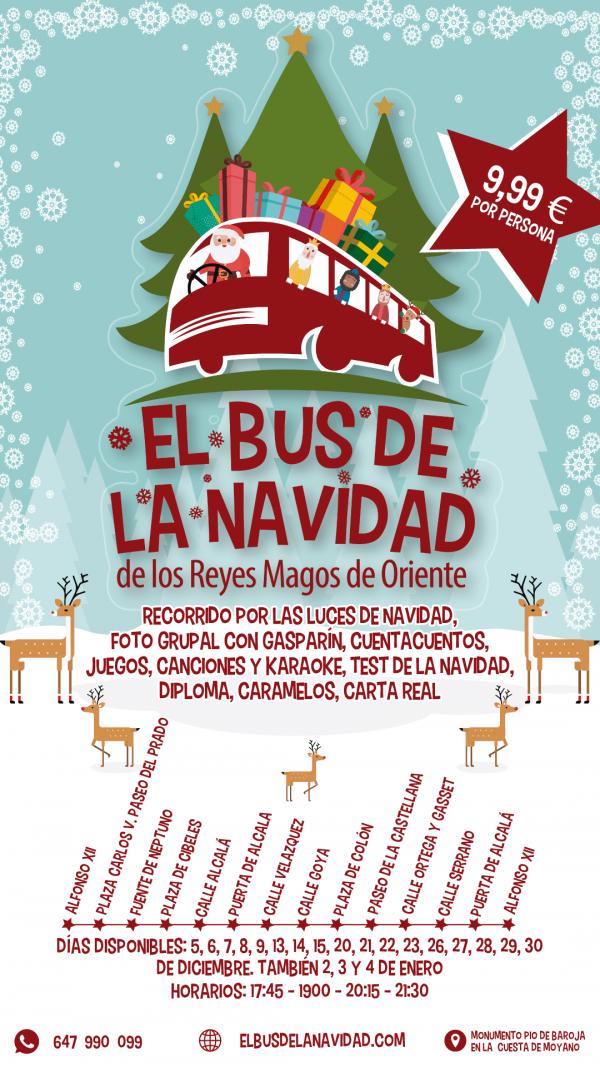 el bus de la Navidad