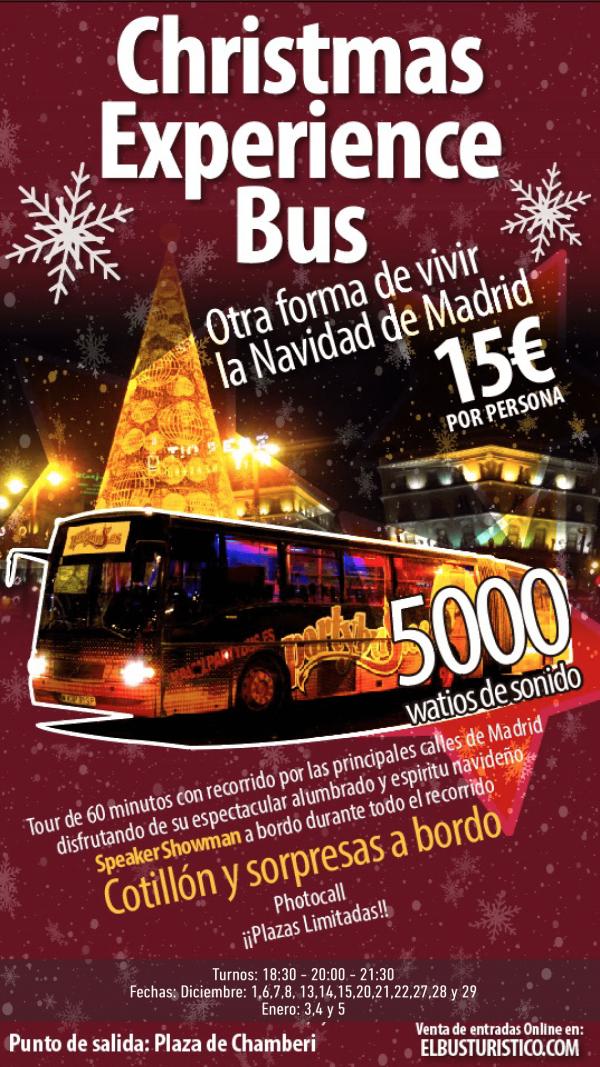 Christmas Experience Bus